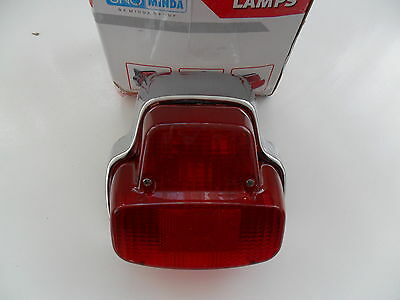 VESPA PX VBB VNB SPRINT poss LML STAR/STELLA CONVERSION REAR BACK LIGHT CHROME