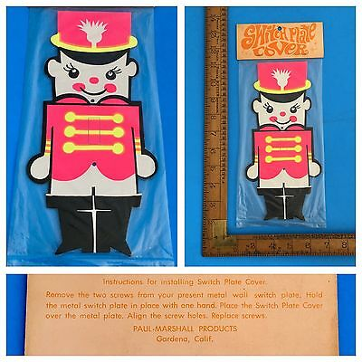 New Old Stock VINTAGE Paul-Marshall Products Toy Soldier SWITCH PLATE Sealed