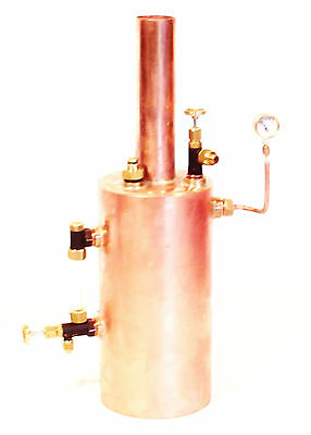 """2.5"""" Vertical Live Steam Boiler - New from Pendle Steam Boilers"""