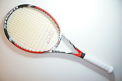 Wilson Steam 99S Spin 16X15 304G/10.7Oz Tennis Racket 4 1/4 Eu2