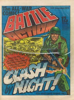 BATTLE (15 December 1979) World War 2 Nazis UK comic 2000AD Action IPC 2000AD