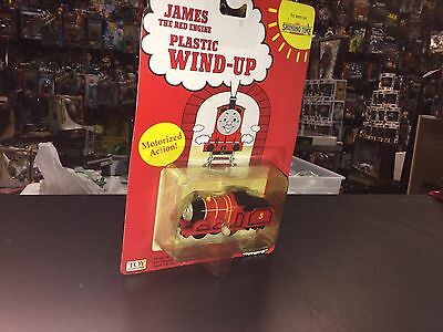 Thomas the Train Wind Up NEW NIP MOC James toy headquarters 1993 Red Engine