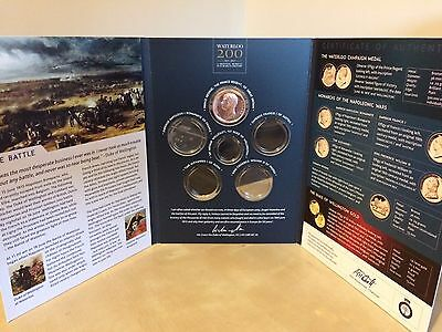 The Battle Of Waterloo Coin Set 1815-2015