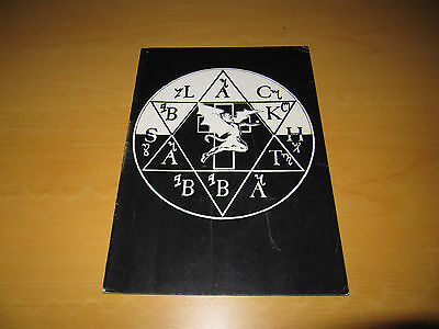 Black Sabbath - 1981 UK Tour Programme                (Promo)