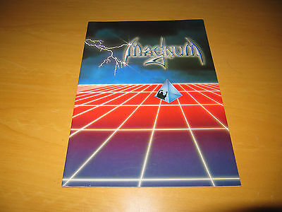 Magnum - Fully Signed 1985 Tour Programme  - Signed By Whole Band  (Promo)