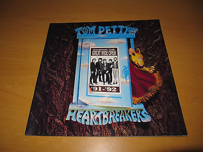 Tom Petty - Touring The Great Wide Open - 1991 Tour Programme   (Promo)