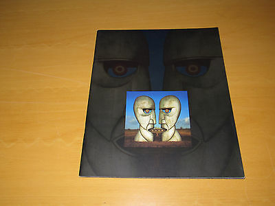 Pink Floyd - The Division Bell - 1994 European Tour Programme            (Promo)