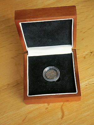 Rare 1016-1035AD Anglo-Saxon King Canute Silver Penny Boxed
