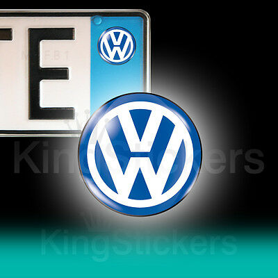 3 ADESIVI targa VW stickers auto moto camper VOLKSWAGEN GOLF POLO UP TUAREG GTI
