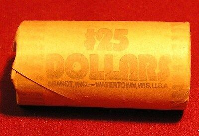 UNC Roll of 2000 D - Roll of 25 Sacagawea Native American $1 Dollar Coins