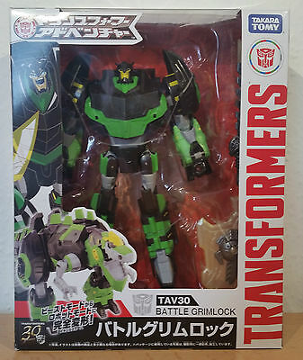 "Transformers TAV-30 ""Battle Grimlock Voyager"" NEW Takara Adventure RID"