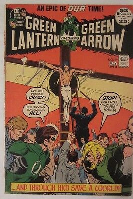 Green Lantern 89 (May, 1972) Neal Adams, Green Arrow, VF