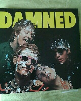 "THE DAMNED ""Damned"" RARE 1977  -STIFF Records 12"" LP PUNK"