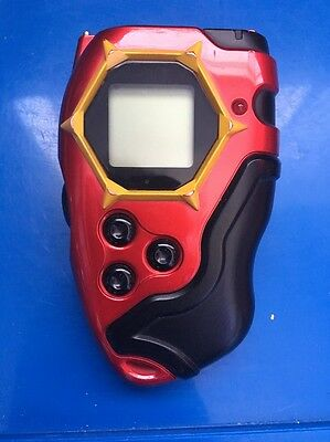 Digivice D-Tector Metallic Red LIMITED EDITION