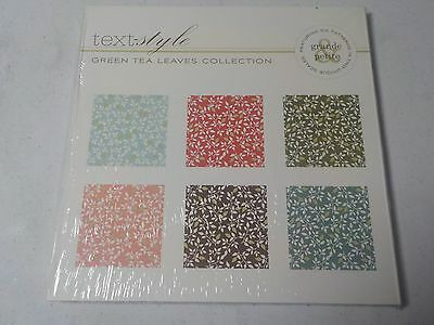Papertrey Ink Green Tea Leaves Collection 8 X 8 Six Patterns Paper Pack A4018
