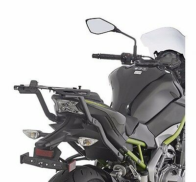 Kawasaki Z900 2017 GIVI 4118FZ MONORACK ARMS TOP BOX case RACK + M8A ALLOY PLATE