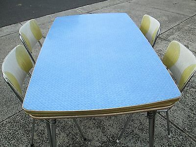 RETRO Dining table and chairs 1960s
