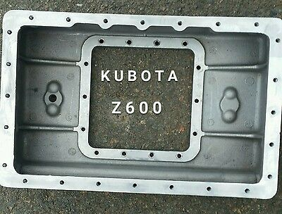 Kubota Z600 Diesel Engine 2 Piece Oil Pan Dipstick Carrier Transicold CT2-35