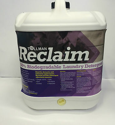 New Reclaim 20L Bulk Biodegradable Envirofriendly Liquid Laundry Detergent