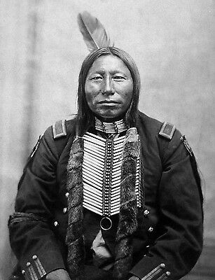 Crow King Hunkpapa Sioux * 13x19 PHOTO Print