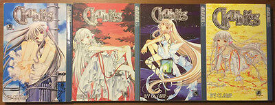 Chobits Manga Complete Series Volumes 1-8 in English
