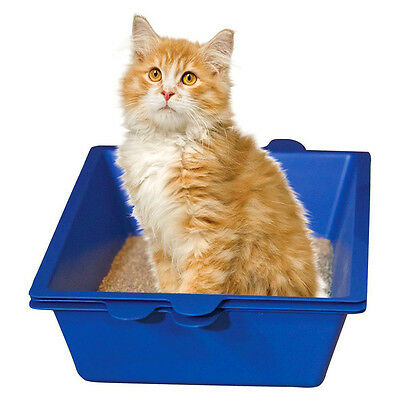 Sift Away Cat Self Sifting Litter Box-3 Part System-Don't Scoop The Poo Cat New