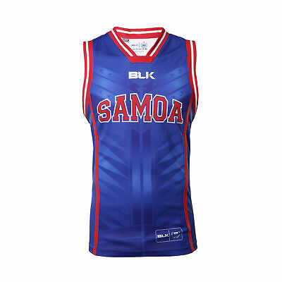 Samoa Rugby Union Players Basketball Singlet Sizes S-7XL! BNWT's!5