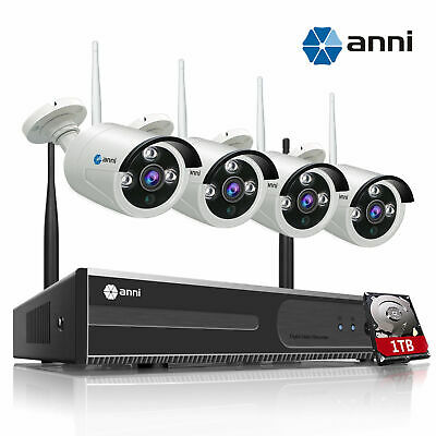 ELEC 8CH 1500TVL 960H DVR In/Outdoor IR Night Vision Home Security Camera System
