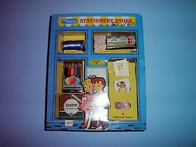 My Merry Stationery Store 1959 Vintage Toy Play Set