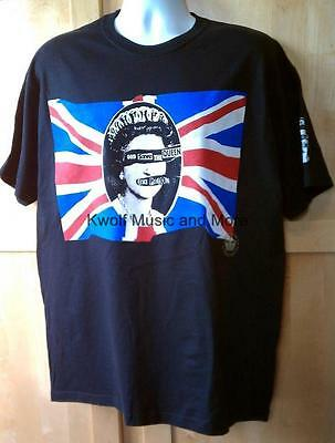 "SEX PISTOLS  T Shirt   ""Union""   Official/Licensed    Size:Med   NEW"
