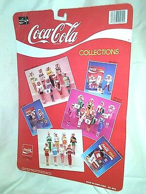 Coca Cola Casual Fashions 11 1/2 Inch Barbie Doll No.4012 New Nip Work Out 1986