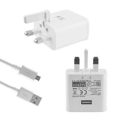 1M 2M 3M Micro USB Cable / Adaptive Fast Charger For Samsung Galaxy S6 S7 Edge