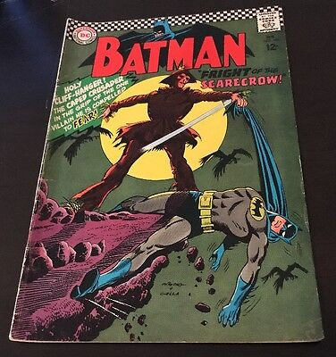 Batman #189 FN/VF 1st Silver Age Appearance Of Scarecrow DC KEY 1967 Comic