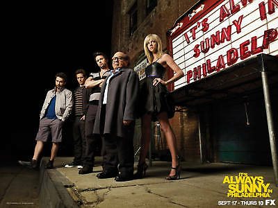 Its Always Sunny In Philadelphia Tv Show Cast Poster