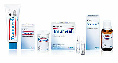 Traumeel S /T-Relief/ Homeopathic Anti-Inflammatory Pain Relief Analgesic
