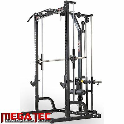 MEGATEC  Smith Machine System MT-MPS Half Rack Squat Power
