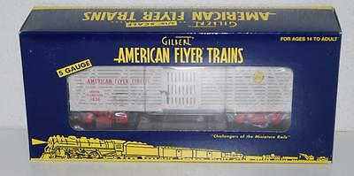 American Flyer 6-48380 Circus Stock Car Animal Transport 3636 S gauge RED trucks