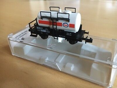 Fleischmann N Guage Piccolo Wagon Esso Fuel Tanker 8401 In Original Box