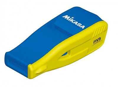 Mikasa Volleyball Referee Sports Whistle BEAT MASTER Blue Yellow