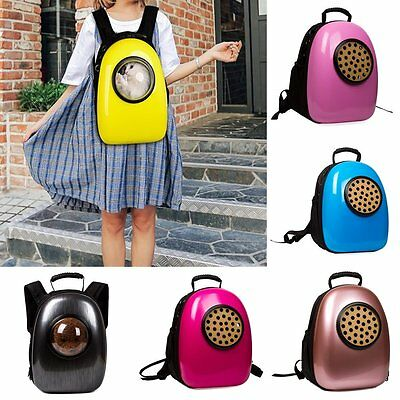 Portable Dog Cat Bags Breathable Pet Backpack Space Capsule Pet Outside Carrier