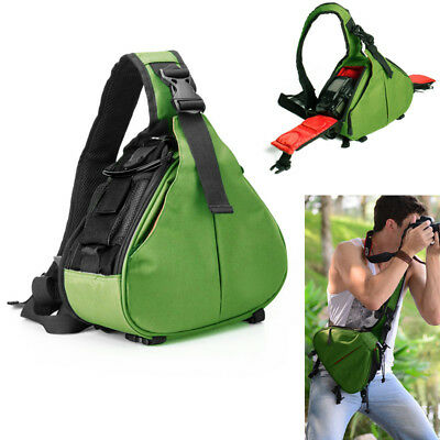 Digital DSLR SLR Camera Shoulder Rapid Cameras Sling Strap Bag For Canon Nikon