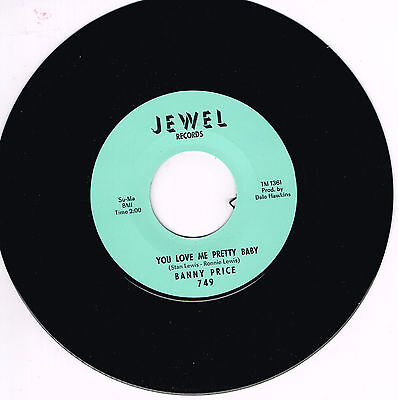 BANNY PRICE - YOU LOVE ME PRETTY BABY / YOU KNOW I LOVE YOU (R&B - Soul STROLLER