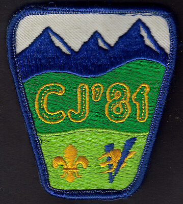 Boy Scouts Canada 1981 Canadian Jamboree Embroidered Patch