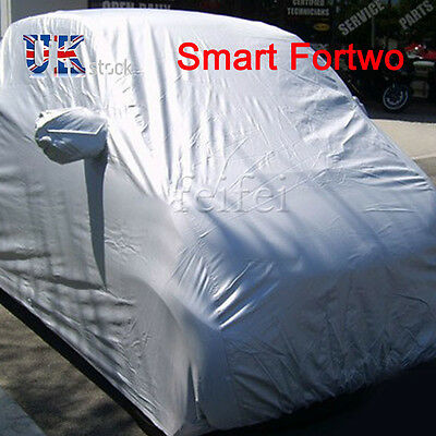 SMART FOR TWO 2 Layer Waterproof UV Resistant Breathable Car COVER PROTECTOR UK
