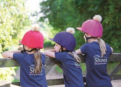 Shires Pom Pom Riding Hat Cover 831