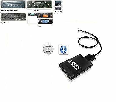 Bluetooth USB SD Adapter AUX MP3 Changer Renault Megane II 2 2002-09