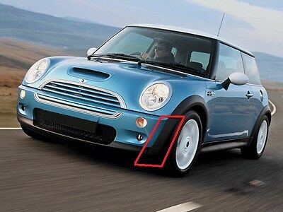 Mini New Cooper R50 (01-04/07) Front Bumper Outer Plastic Trim Left N/s