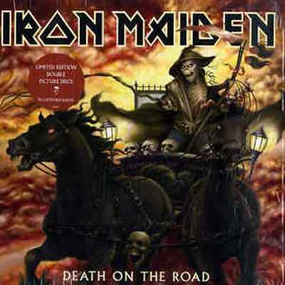 IRON MAIDEN death On The Road 2 x PICTURE DISC Vinyl LP NEW & SEALED