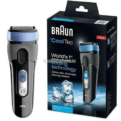 Braun Cool Tec CT2S Shaver SensoBlade & Adaptable 3 Stage Cutting System