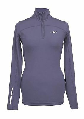Shires Ladies Beijing Base Layer Top- Navy/ Plum/ Red 9930
